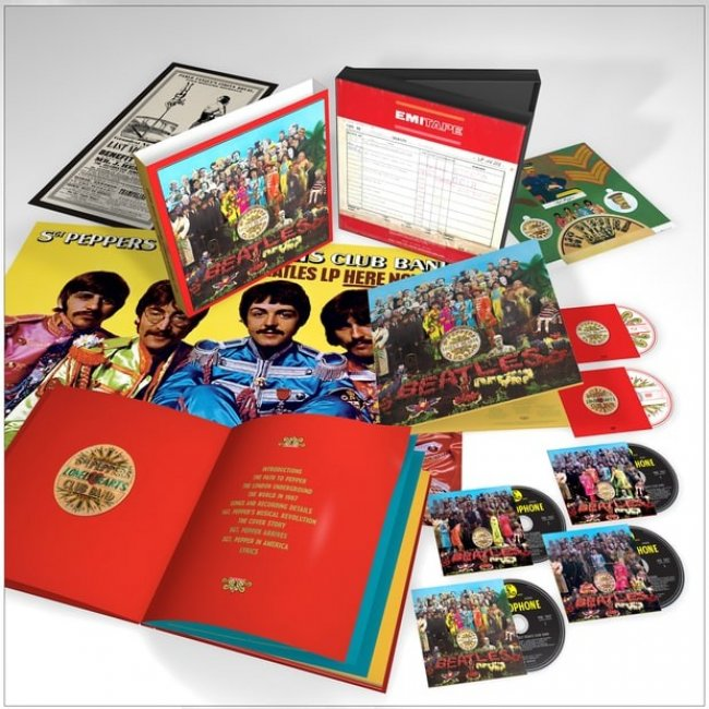 Sgt.Pepper`s Lonely Hearts Club Band 50 Anniversary Edition<small> [<strong>Ristampe</strong>]</small>